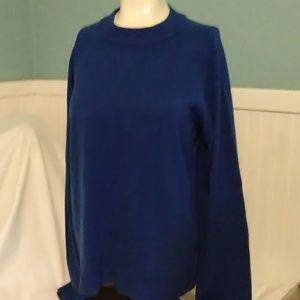 Karen Scott Blue Sweater